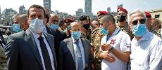 Beyrouth : Le président libanais évoque l'hypothèse d'un «missile»