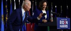 Joe Biden et Kamala Harris promettent ensemble de «reconstruire» l'Amérique