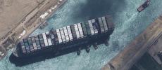 Canal de Suez : L'Égypte réclame 900 millions de dollars, l'Ever Given saisi