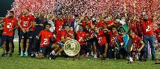 Le Wydad de Casablanca reçoit le trophée du championnat de première division