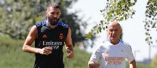 Liga: Guéri du Covid-19, Benzema reprend les entraînements